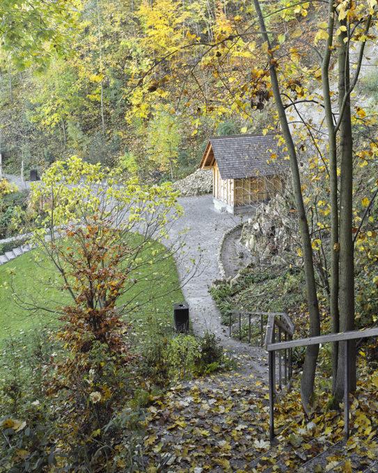 Schlosspark Eremitage Treppe