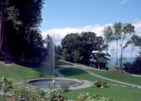 Schlosspark Springbrunnen