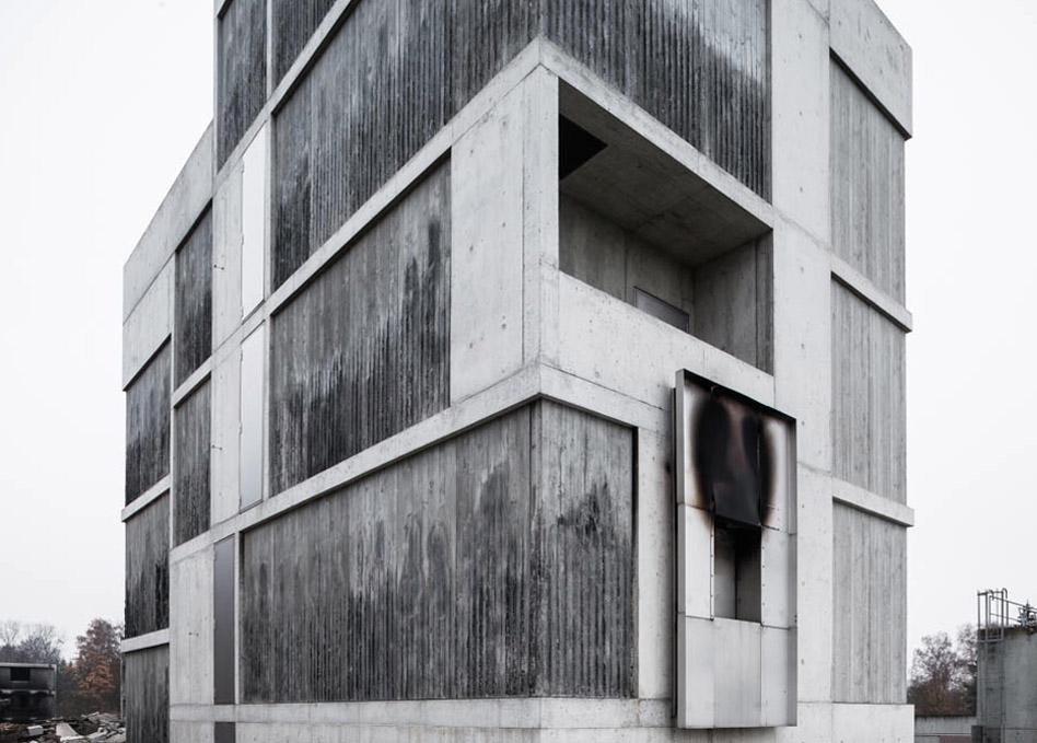 Brandhaus Schalung