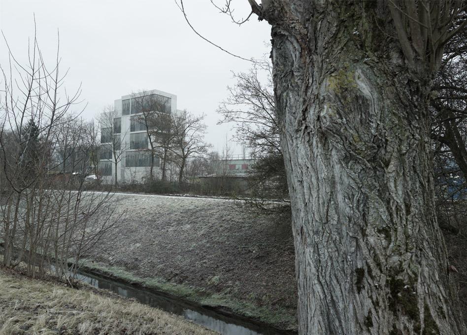 Brandhaus Umgebung