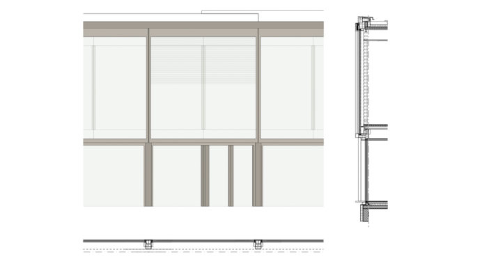 AXA Fassadendetail