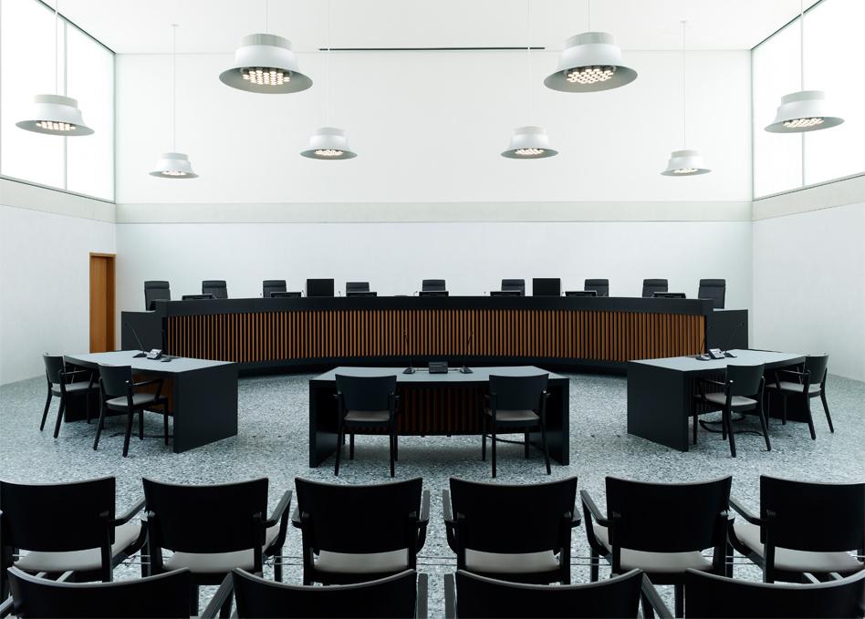 BVG Gerichtssaal