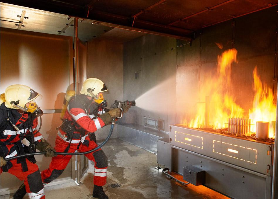 Brandhaus Feuerwehr
