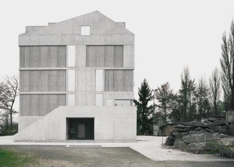 Brandhaus Suedseite