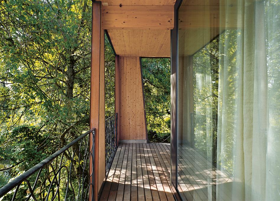 Sommerhaus Balkon