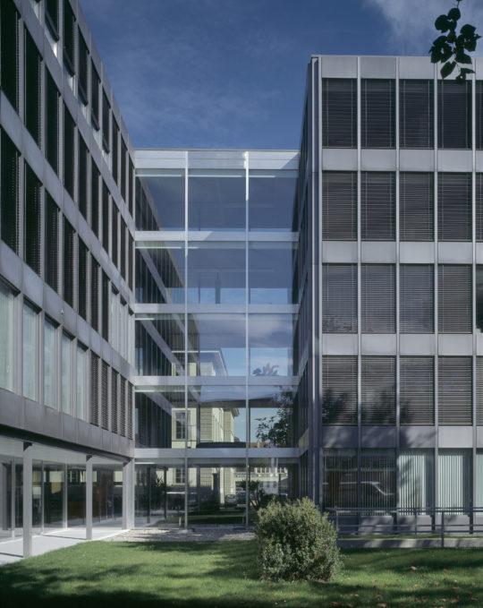 Verwaltungsgebaude Suedfassade