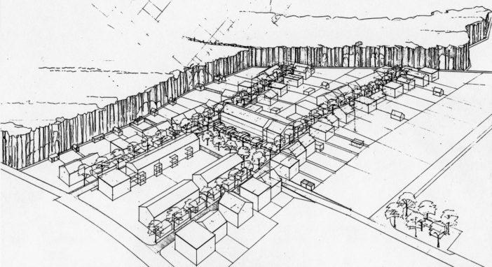 Quartierplan Breitfeld Skizze