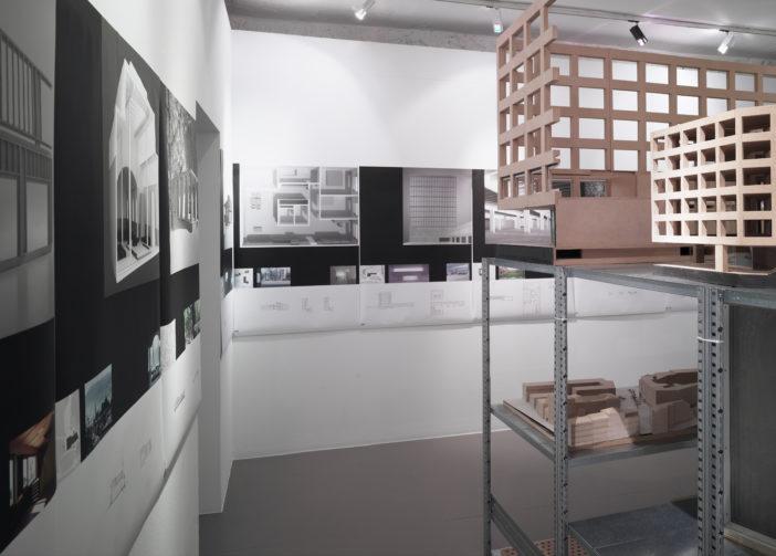 Architektur Forum Zürich Einblick Austellung