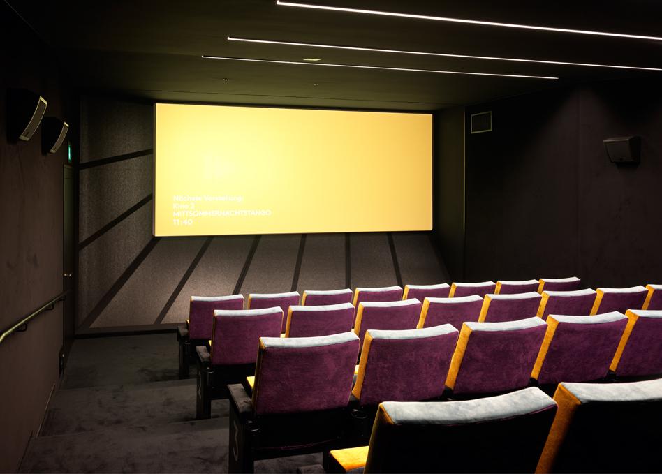 Houdini Kinosaal