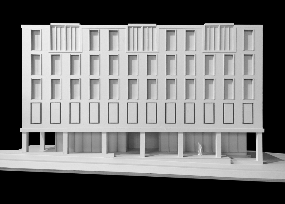 HPFF Modell Fassade