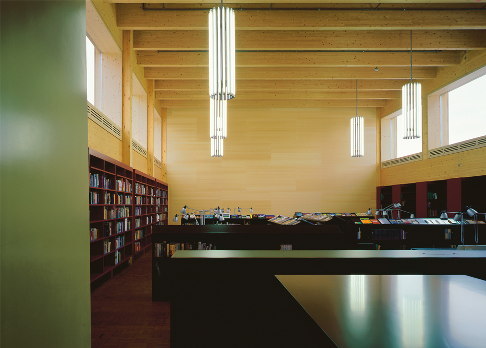 Kanti Wil Bibliothek