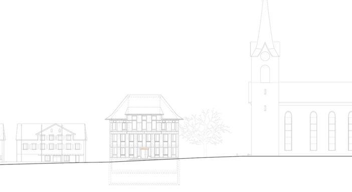 Urnäsch Fassade Nord